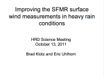 Klotz SFMR presentation