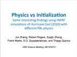 J. Zhang presentation