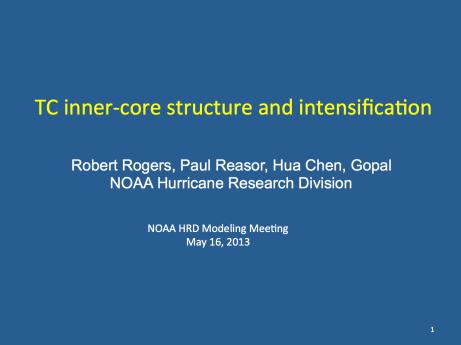 Rogers' presentation