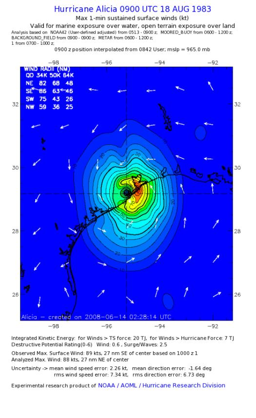 30th anniversary of Hurricane Alicia