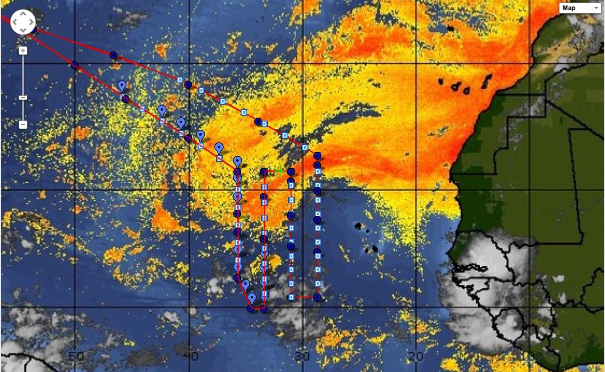 NOAA helps NASA's Global Hawk mission study Saharan dust storms that
