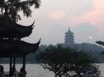 Leifeng Pagoda, West Lake, Hangzhou,  Zhejiang, China