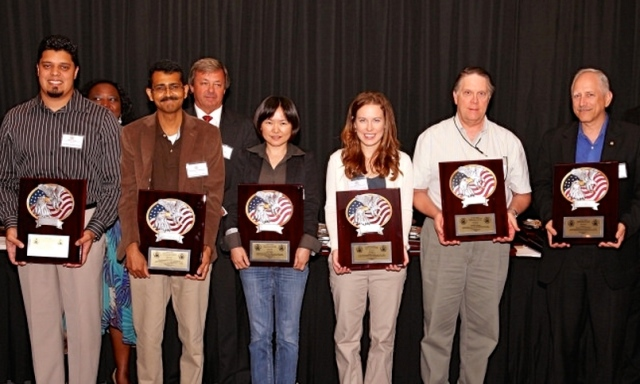 Model development team members (l to r: Thiago Quirino, Gopal, Hua Chen, Lisa Bucci, Robert Black, and Stan Goldenberg. Not pictured are Xuejin Zhang and Fran Marks)