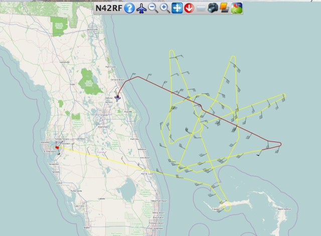 NOAA 42 completes first TDR mission into Arthur