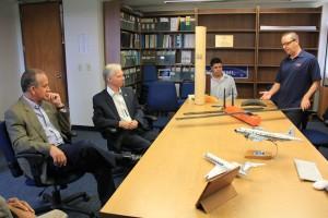 L-R: US Rep. Diaz-Balart, Robert Atlas, Thiago Quirino and Joe Cione.