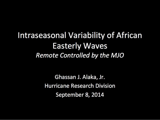 Alaka's presentation