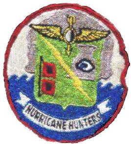 VW-4 Hurricane Hunters' patch