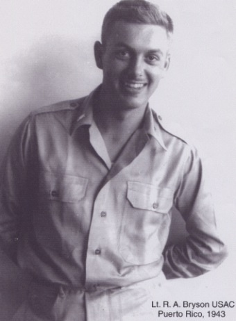 Reid Bryson while attending the Institute of Tropical Meteorology in 1943