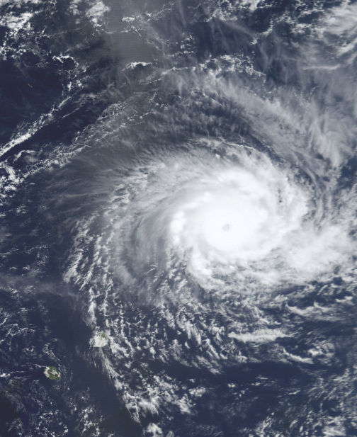 Cyclone Hudah (NASA)