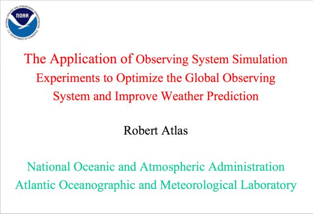 Atlas' presentation