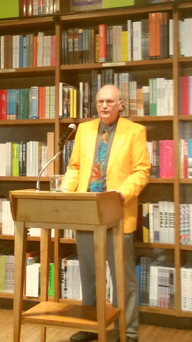 Neal Dorst at Books & Books (photo by Atiba Upchurch)