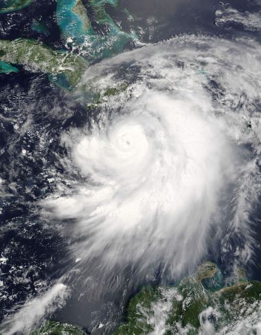 Hurricane Dennis on July 7th (NASA)