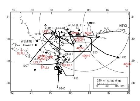 NOAA 43 landfall mission