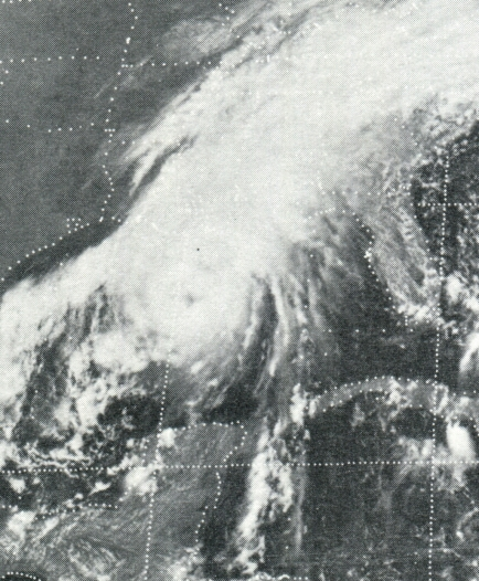 Hurricane Eloise satellite picture Sept. 22, 1975 (NOAA)