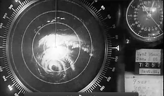 Hurricane Donna in the Florida Keys (Univ. Miami Radar)