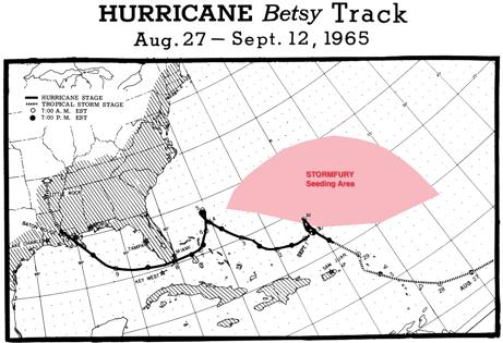 Betsy's track and STORMFURY seeding area