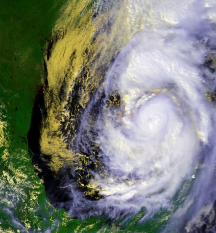 Hurricane Opal on Oct. 3, 1995 (NOAA)