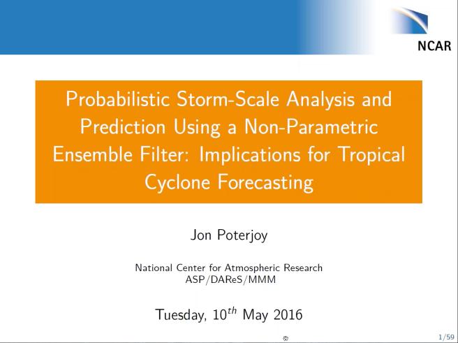 Poterjoy presentation