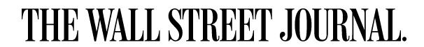 Wall Street Journal banner