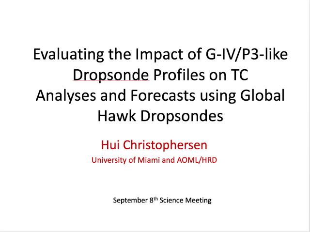 Christophersen presentation