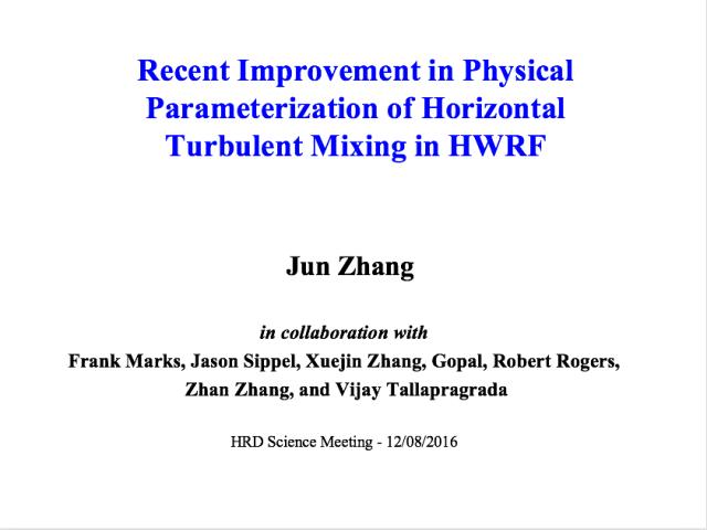 Zhang presentation