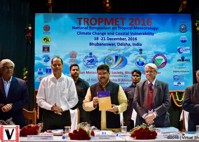 Release of the textbook  by India Minister for Petroleum and Natural Gas Hon. Dharmendra Pradhan