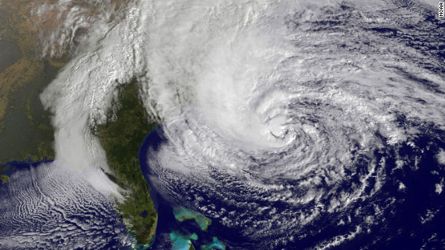 Hurricane Sandy transitions to hybrid system as it approaches New York